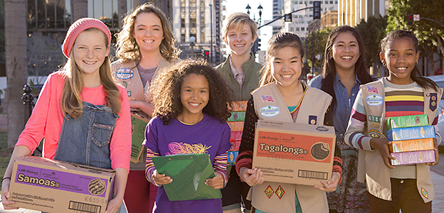 Local Girl Scouts