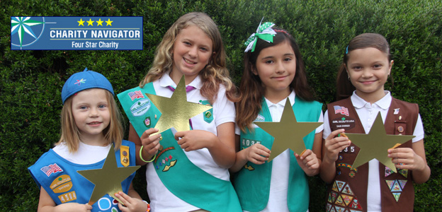 Girl Scouts at One San Diego