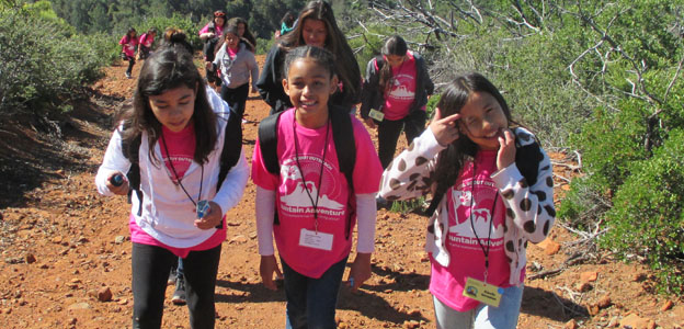Girl Scout Outreach Mountain Adventure