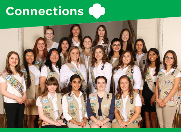 Girl Scouts at UN