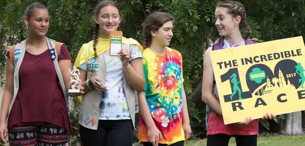 Girl Scouts Incredible Race