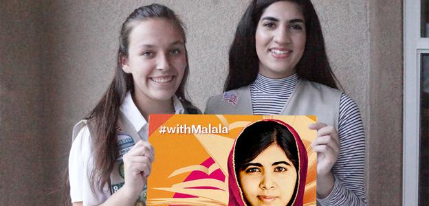 #withMalala recipients